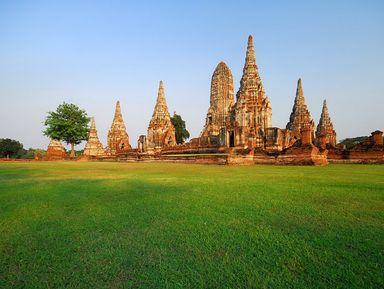 Роскошная Аюттайя и резиденция королей Банг Па-Ин