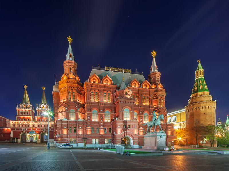 Экскурсия Групповая экскурсия «Огни Москвы»