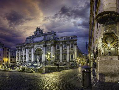 Магия вечернего Рима
