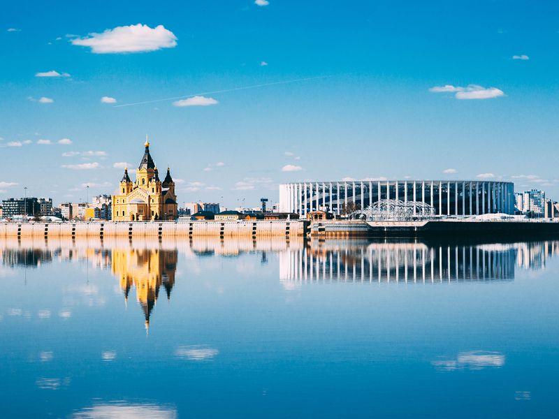 Экскурсия Обзорная экскурсия поНижнему Новгороду наавтобусе