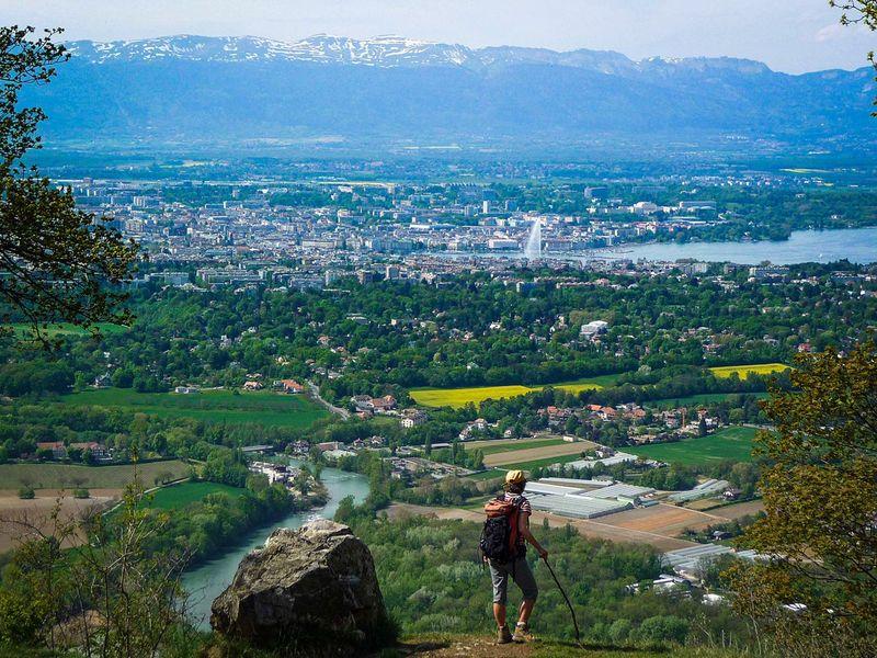 Экскурсия Женева и окрестности: гора Салев