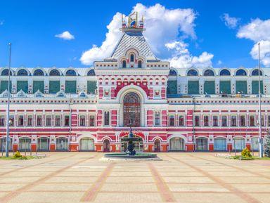 Купеческий Нижний Новгород на автобусе и пешком
