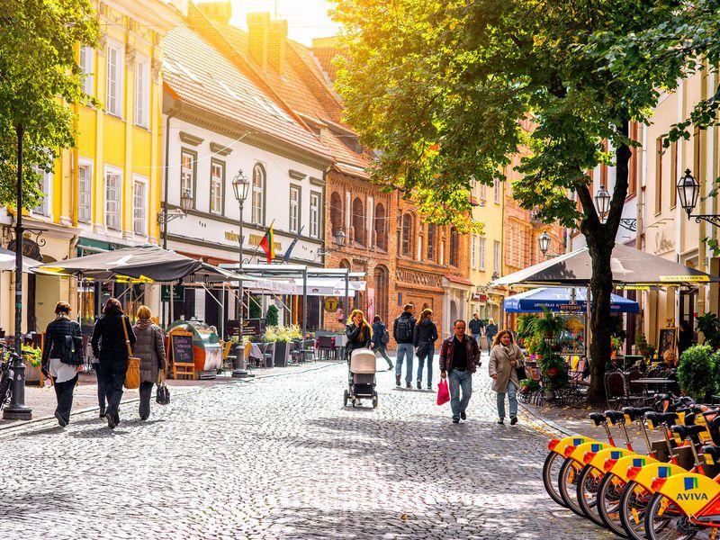 Экскурсия Вильнюс — любовь с первого взгляда