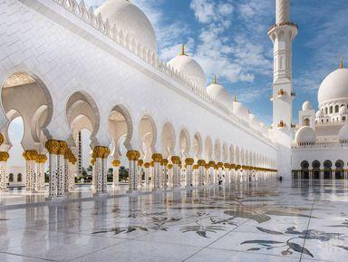 Из Дубая в Абу-Даби