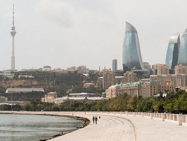 Прогулка по бакинской набережной