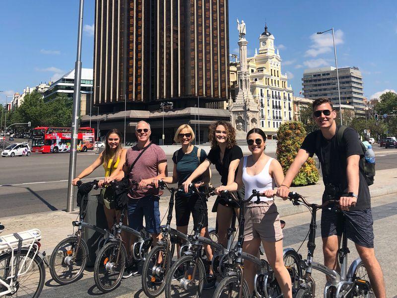 Экскурсия Велопрогулка по Мадриду: влюбиться в город за три часа
