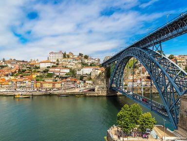 Порту и город портвейна Вила Нова де Гайя