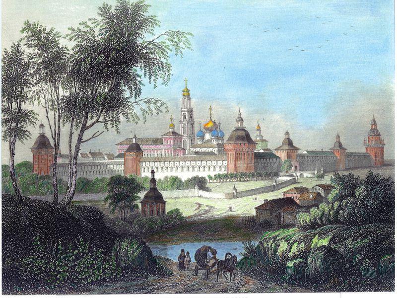 Экскурсия Сергиев Посад: с горки на горку