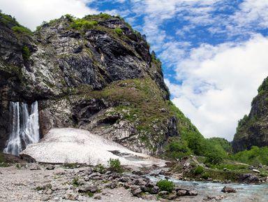 Наджипах— ккрасавице-Рице ивеликану Гегскому водопаду