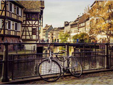 Велопрогулка поСтрасбургу
