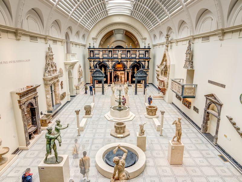 Экскурсия Музей Виктории и Альберта: история стиля