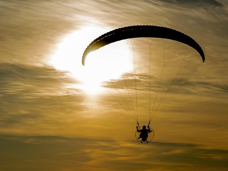 Экскурсия Полёт над Волгой на параплане