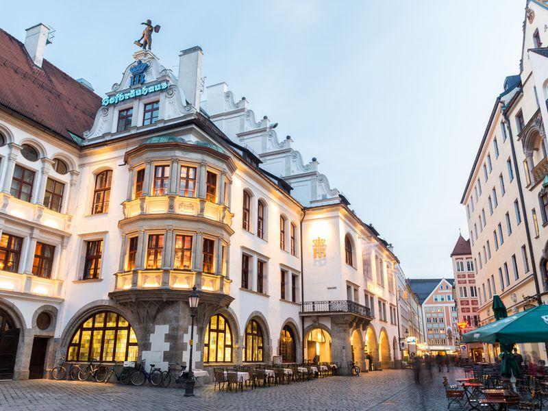 Экскурсия Первый день в Мюнхене