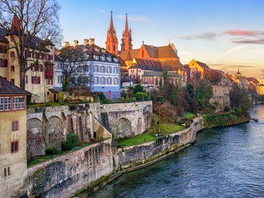 Базель — город на границе Швейцарии, Германии и Франции