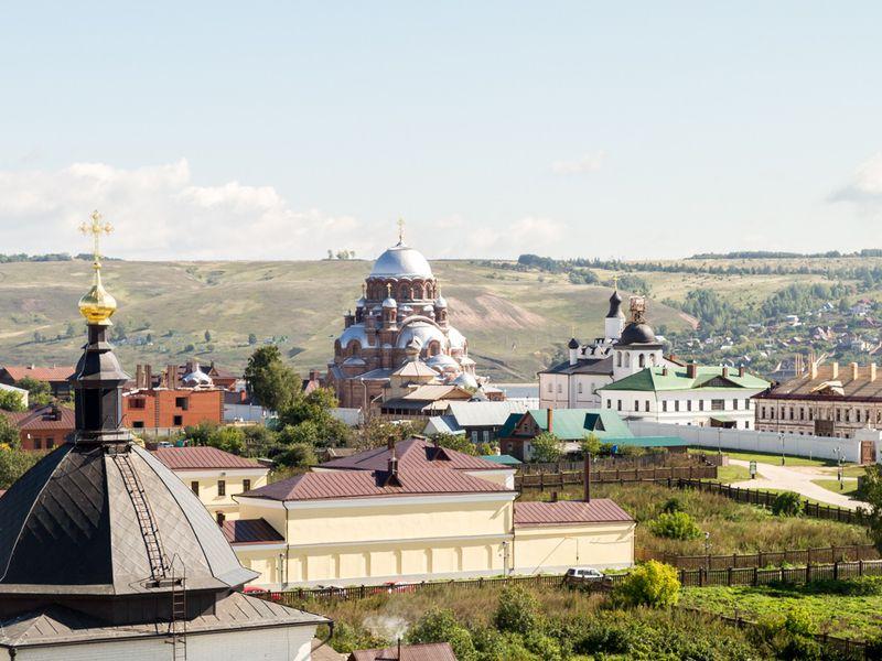 Экскурсия Свияжск, Раифский монастырь иХрам всех религий