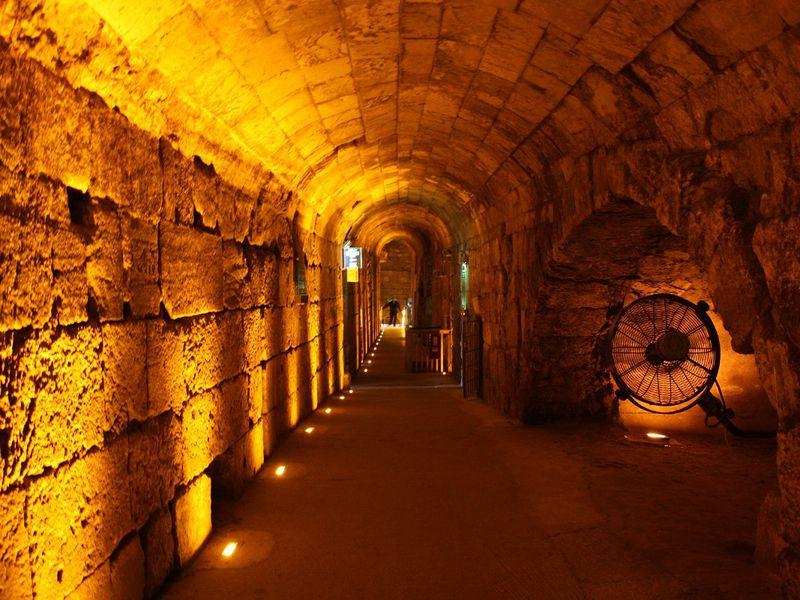 Экскурсия Тоннели у западной стены
