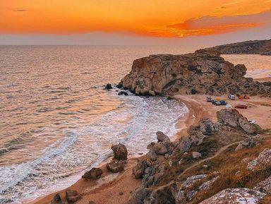 Керчь и Генеральские пляжи из Анапы