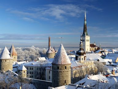 Фотопрогулка по старинному Таллину