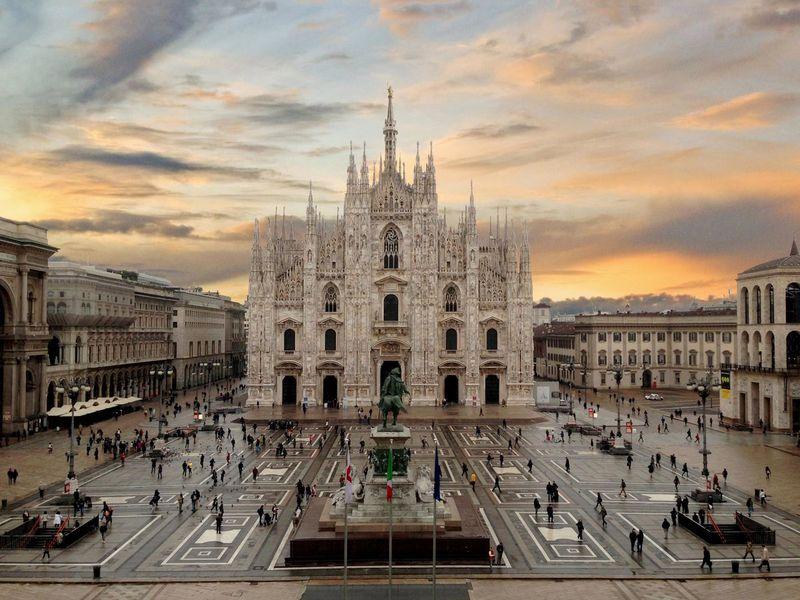 Экскурсия Первая прогулка по Милану