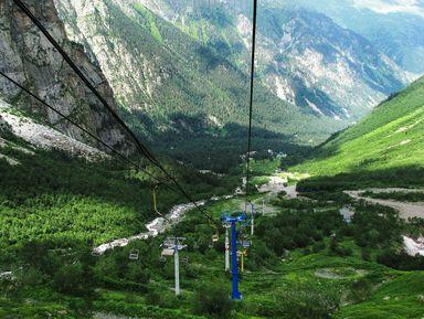 К сказочным панорамам Цейского ущелья!