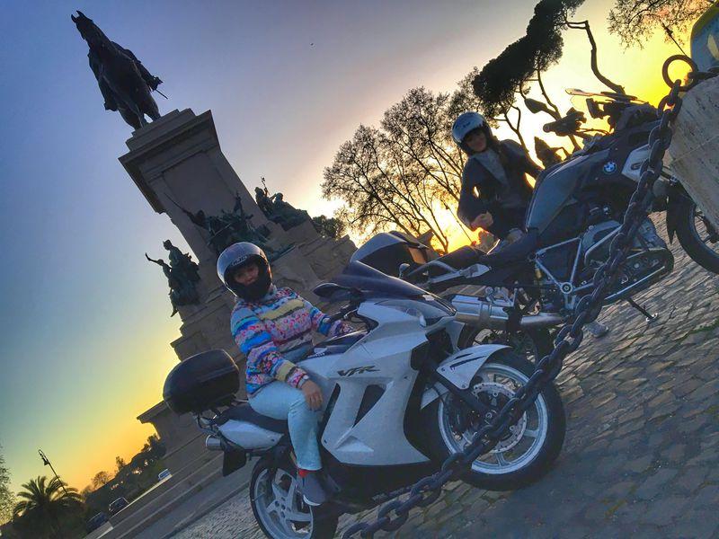 Экскурсия ПоРиму намотоцикле!