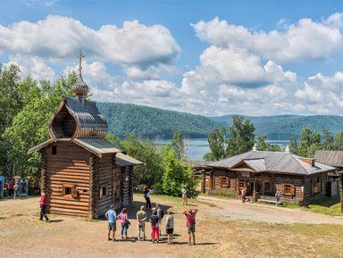 Иркутск — музей Тальцы — поселок Листвянка