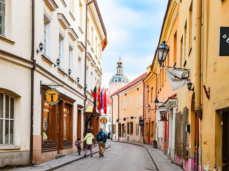 Вильнюс — первое свидание