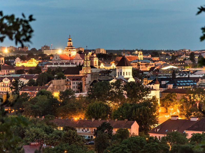 Средневековый Вильнюс: вечерняя прогулка