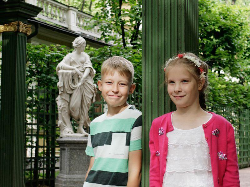 Экскурсия Семейная фотопрогулка по Петербургу