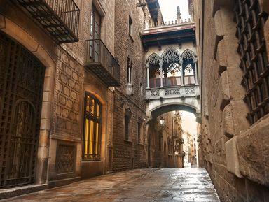 Таинственные лабиринты готического квартала