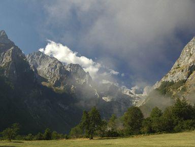 Горная гряда Проклетие— балканские Альпы