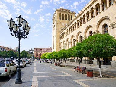 Большая обзорная прогулка по Еревану