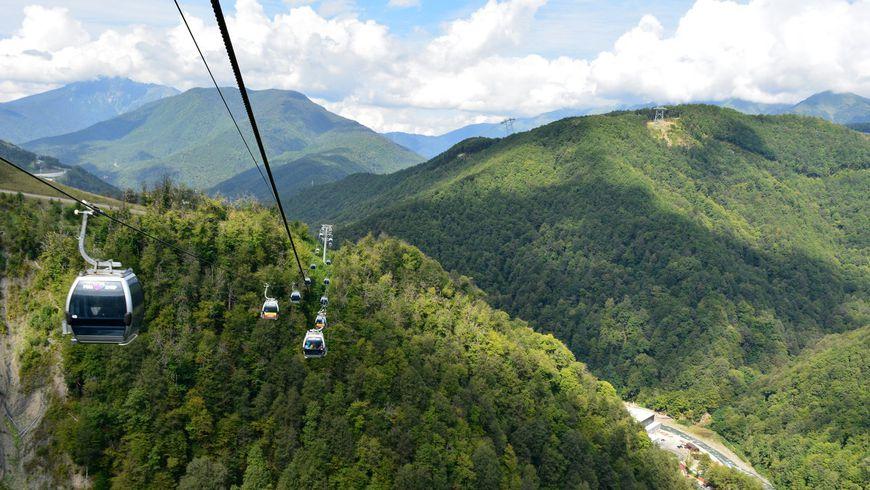 Путь квершинам «Розы Хутор»: лучшие панорамные виды Сочи