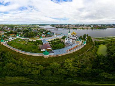 Вечер на Волге: панорама Костромы и «Дом стрельца»