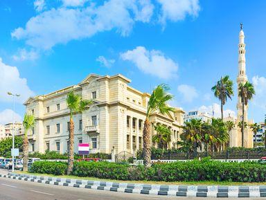 Путешествие из Каира в Александрию