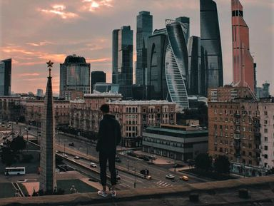 Moscow-top. Прогулка по крышам