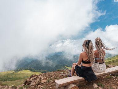 Треккинг в облаках: покорить хребет Аибга