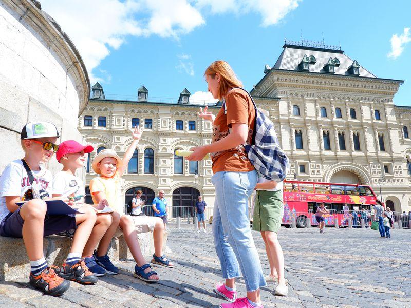 Экскурсия Детская квест-экскурсия по Красной площади