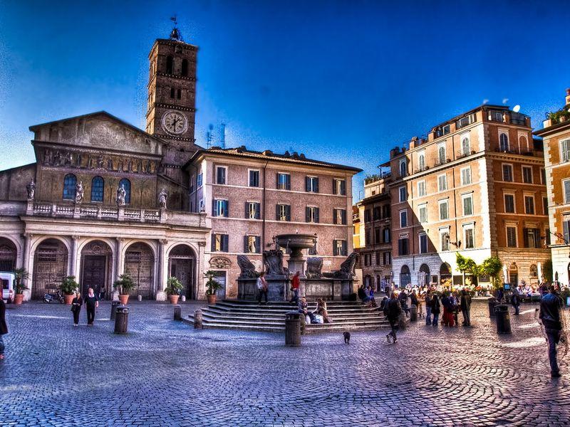 Экскурсия На берегах Тибра — Трастевере, Гетто и центр Рима