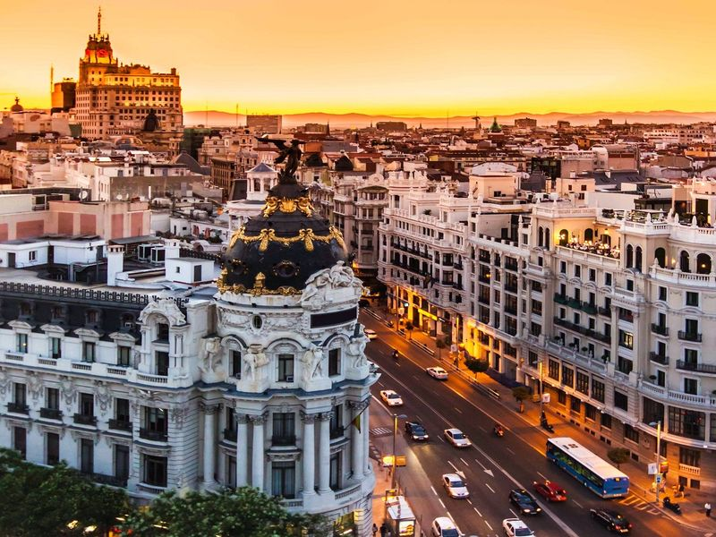 Экскурсия Ежедневная прогулка по Мадриду