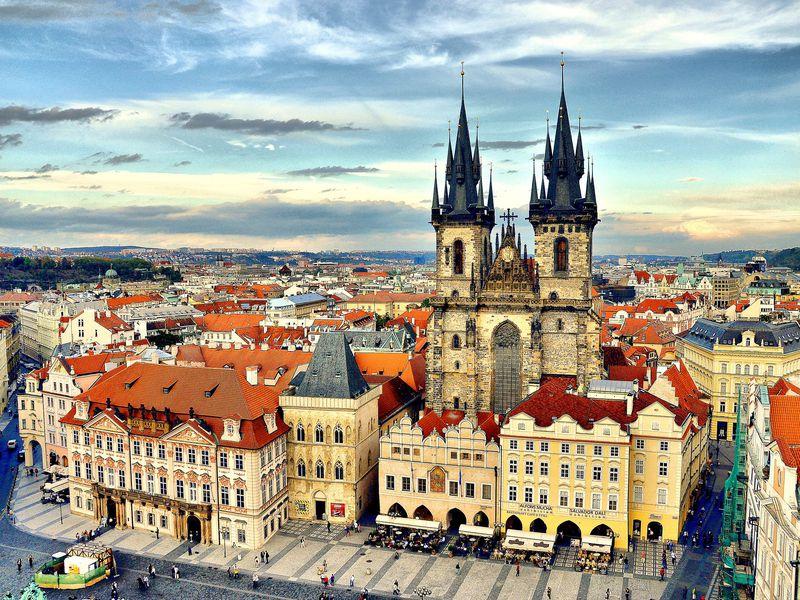 Экскурсия Прага для интровертов: большая обзорная прогулка