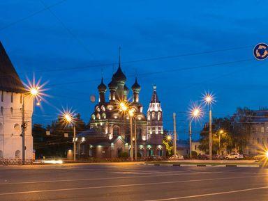 Вечерний Ярославль