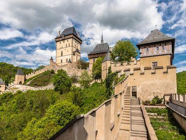 Средневековые замки Карлштейн и Конопиште