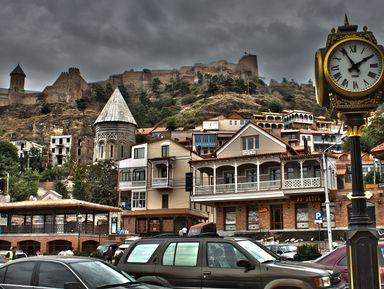 Обзорная автомобильная экскурсия по Тбилиси