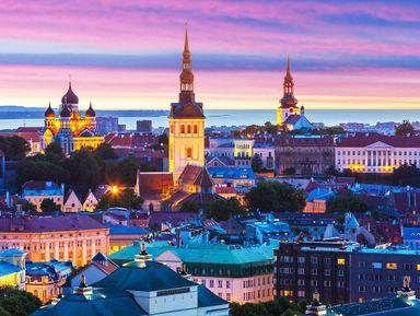 Легенды Таллина при свете фонаря