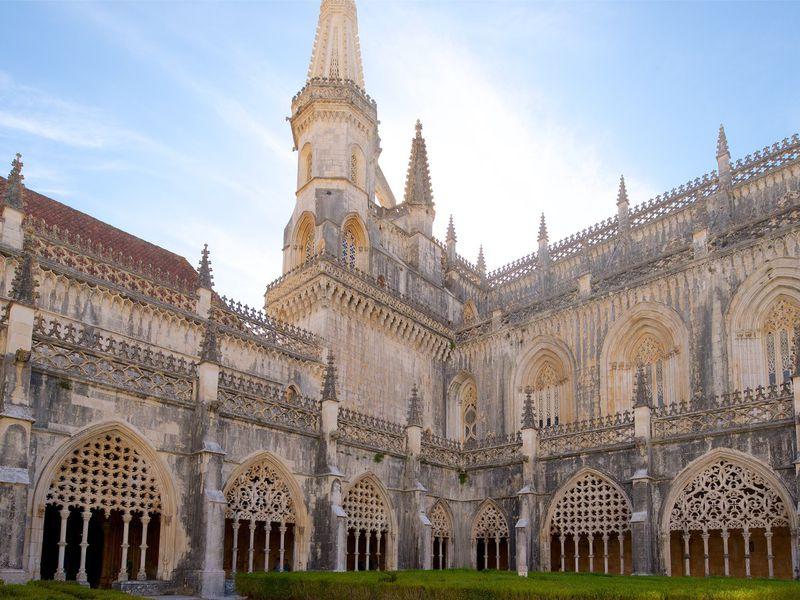 Ожерелье Португалии: Обидуш, Алкобаса, Баталья, Томар