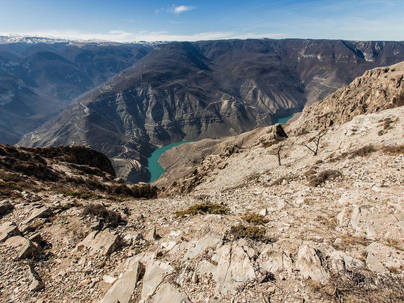 Экскурсия Сулакский каньон и бархан Сарыкум: путешествие из Махачкалы