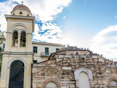 Византийские храмы Афин