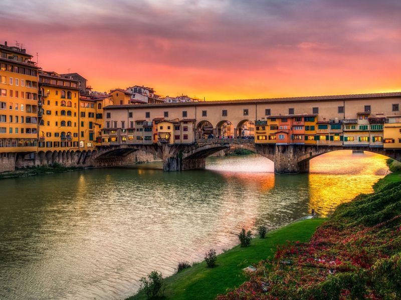 Экскурсия Групповая обзорная прогулка по вечерней Флоренции