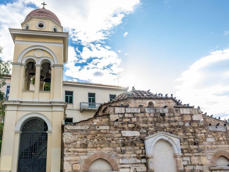 Экскурсия Византийские храмы Афин